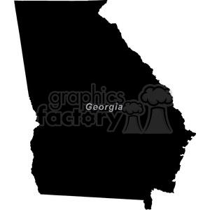GA-Georgia clipart. Royalty-free image # 383791
