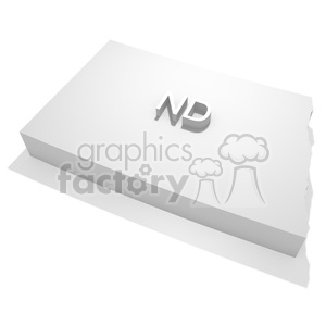 North Dakota-ND clipart. Royalty-free image # 383816