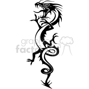chinese dragons 038 clipart. Commercial use image # 383855