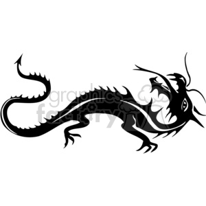 chinese dragons 034 clipart. Royalty-free image # 383875