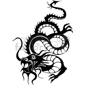 Asian dragons clipart. Royalty-free image # 383880