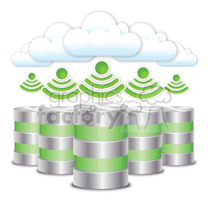 cloud-farm clipart. Royalty-free image # 383898