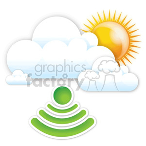 strong WiFi signal clipart. Royalty-free image # 383938