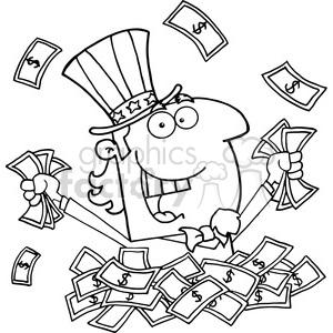 102525-Cartoon-Clipart-Uncle-Sam-Holding-Cash