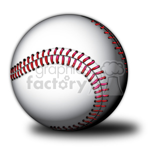 vector baseball clipart. Royalty-free image # 384122