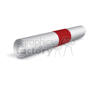 rolled paper clipart. Royalty-free image # 384132