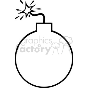 cartoon-bomb clipart. Royalty-free image # 384218