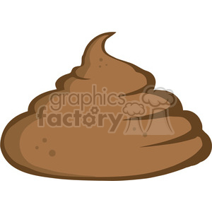 cartoon-poo clipart. Royalty-free image # 384248