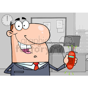 cartoon-office clipart. Royalty-free image # 384273