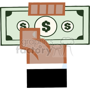 tax-money clipart. Royalty-free image # 384293