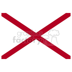 Vector State Flag of Alabama clipart. Royalty-free image # 384550