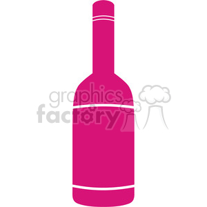 bottle of wine clipart. Royalty-free image # 384570