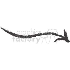 right-sketched-arrow clipart. Commercial use image # 384590