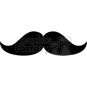 fat mustache clipart. Royalty-free icon # 384645