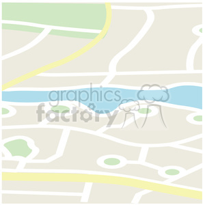 cartoon map clipart. Royalty-free image # 384655