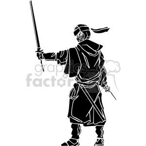 ninja clipart 004 clipart. Royalty-free image # 384670