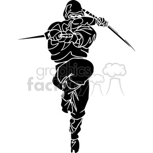 ninja clipart 016 animation. Royalty-free animation # 384680