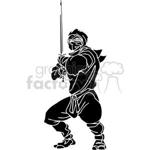 ninja clipart 029 clipart. Royalty-free image # 384685