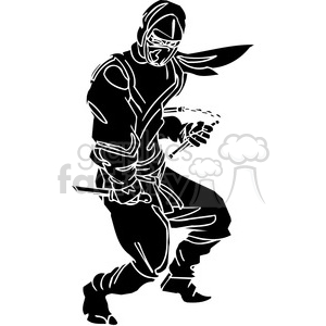 ninja clipart 018 clipart. Commercial use image # 384715