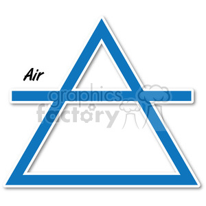 air symbol 002 clipart. Royalty-free image # 384796