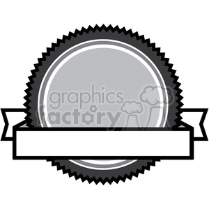 crest logo template 004 clipart. Commercial use image # 384836