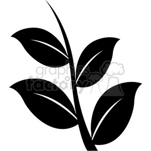 leaf 005 clipart. Commercial use image # 384896