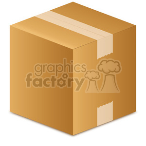 vector box clipart. Commercial use image # 385518