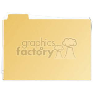 folder clipart. Royalty-free image # 385548