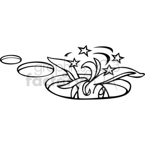 democratic donkey stuck in a hole clipart. Royalty-free image # 385664