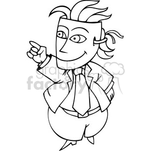 politician hiding behind a mask clipart. Commercial use image # 385716