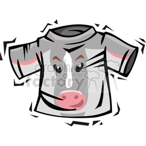 Democrat donkey t-shirt clipart. Royalty-free image # 385726