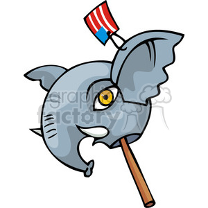 Republican mascot clipart. Commercial use image # 385727