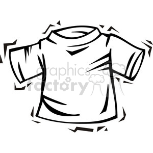 blank tee shirt clip art clipart. Royalty-free image # 385754