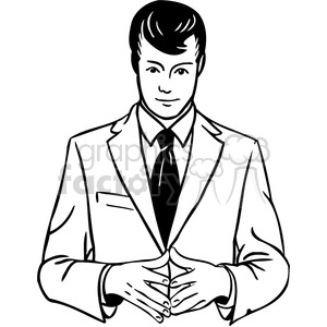 salesman 099 clipart. Commercial use image # 386043