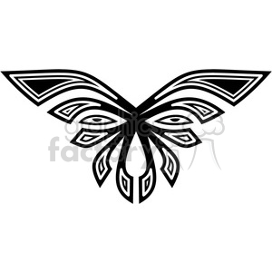 tribal masks vinyl ready art 043 clipart. Royalty-free image # 386422