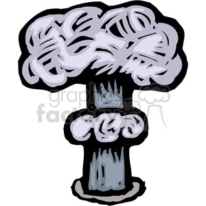 nuclear explosion clipart. Commercial use image # 173666