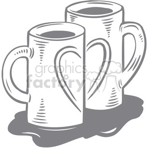 cup of love clipart. Royalty-free image # 386617