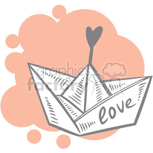 love boat art clipart. Royalty-free image # 386647