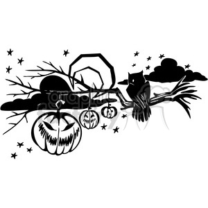 Halloween clipart illustrations 007 clipart. Royalty-free image # 387055