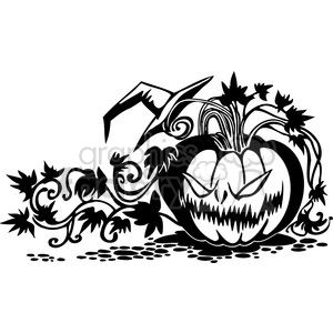 Halloween clipart illustrations 048 clipart. Royalty-free image # 387075