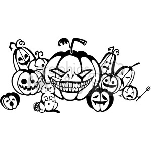 Halloween clipart illustrations 036 clipart. Royalty-free image # 387085