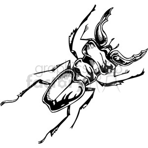 beetle clipart clipart. Royalty-free image # 387116