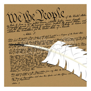 we the people illustration clipart. Royalty-free image # 387156