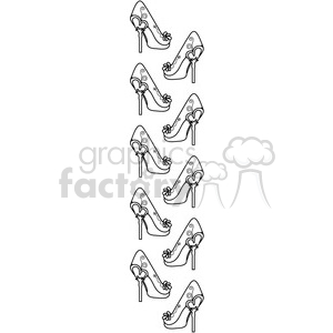 Heels Border 1 clipart. Commercial use image # 387346