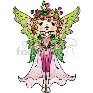 Fairy Colored clipart. Commercial use image # 387355