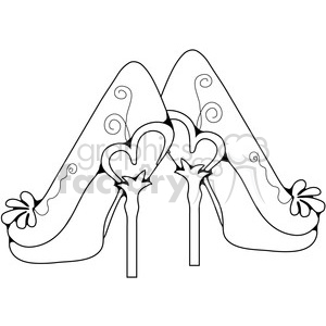 Heels 8 Petals animation. Royalty-free animation # 387443