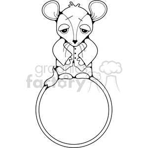 Mouse Frame clipart. Commercial use image # 387477