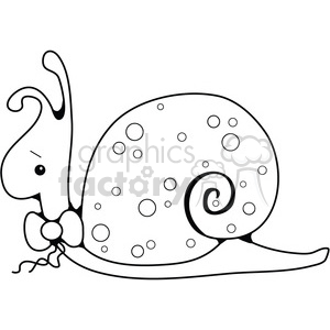 Snail clipart. Commercial use image # 387636