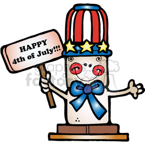 Smore 4th of July clipart. Royalty-free image # 387725