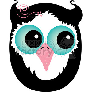 cartoon purse letter girly alphabet o owl bird